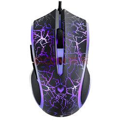 雷柏(Rapoo) V20S 电竞鼠标 游戏鼠标 有线鼠标 笔记本鼠标 黑色烈焰版79元