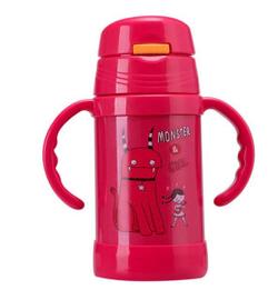 小白熊 不锈钢保温杯  260ML 红色 09600   34.6元(68元,199-100)