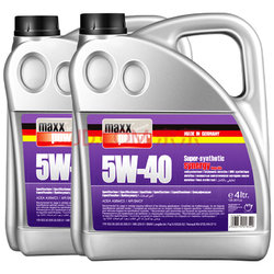 双11预售: 马驰宝 超技全合成机油5W-40 SN级4L(2桶装8L)    680元(需100元定金)