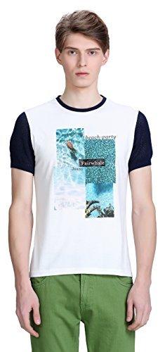 Mark Fairwhale 马克华菲 男式 21短袖T恤 7152211062 001