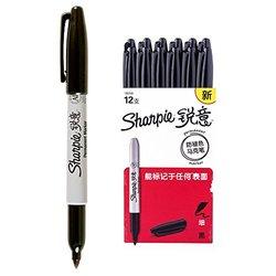Sharpie 锐意 防褪色马克笔细黑(12支 纸盒装)【已结束】