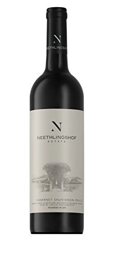 prime会员!Neethlingshof Estate 尼斐侬庄园 Cabernet Sauvignon Merlot赤霞珠梅洛干红葡萄酒2015年份 750ml