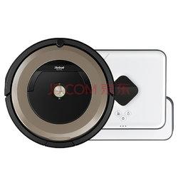 11月1日0点: iRobot Roomba 891扫地机器人+Braava 381 擦地机器人    不高于4399元包邮