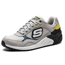 Skechers 斯凯奇* WOMEN'S ORIGINALS 女 绑带运动鞋 9999305-LTGY8 灰色 38 (US 8)(亚马逊自营商品, 由供应商配送)【已结束】