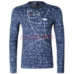 限地区:ARMANI JEANS阿玛尼男士蓝色棉质长袖T恤衫6X6T726J0KZ 2521 XL码348.6元(3件7折)【已结束】