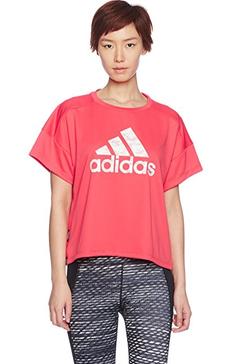 限165码!adidas 阿迪达斯 女式 运动型格 短袖T恤 BQ6623【已结束】