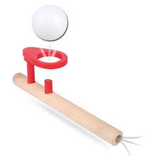 海阳之星 吹吹乐木制吹球悬浮器 儿童玩具