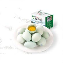 卢氏散养绿壳土鸡蛋30枚