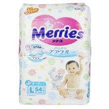 Merries 花王妙而舒婴儿纸尿裤L54片