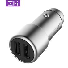 双11预告: ZMI 紫米 QC3.0 汽车快充充电器 双USB口