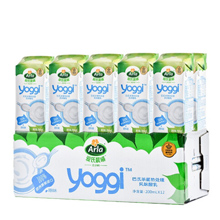 【买1赠1】 Arla 爱氏晨曦 Yoggi 原味酸奶 200ml*12盒