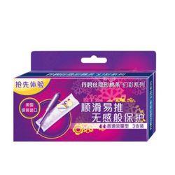 Tampax 丹碧丝 导管式隐形卫生棉条 幻彩系列 普通流量 3条装 *2件