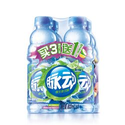 Mizone 脉动 维生素饮料 青柠600ml*3瓶+椰子菠萝600ml