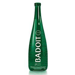 Badoit 波多 充气天然矿泉水 750ml*12瓶(绿玻璃瓶)