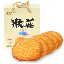 片片情猴菇 酥性饼干 720g