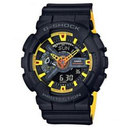 CASIO 卡西欧 G-Shock系列 GA-110BY-1A 男士双显运动腕表