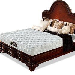 蕾舒 喜气洋洋 精钢弹簧+3E椰梦维床垫 1.8*2m