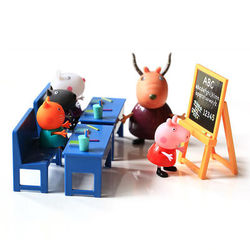 Peppa Pig 小猪佩奇 05033 过家家玩具教室套装+圆形小挎包