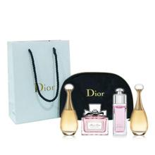 Dior迪奥香水4件套5ml*4*1盒 专柜袋子版Q版小样