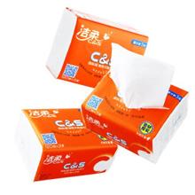 洁柔(C&S)抽取式纸面巾 3层*120抽*24包装
