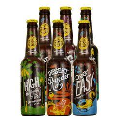 GreenKing 格林王 精酿啤酒 整箱 五种口味组合 330ml*6瓶装  *2件