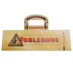 Toblerone 瑞士三角巧克力 收音机特别版 400g(内赠耳机) *2件