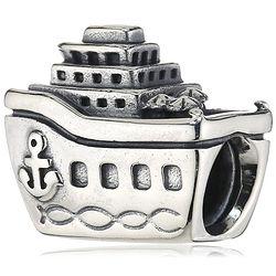 PANDORA 791043 925银 船形串珠 *2件