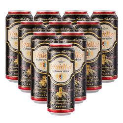 waidler  韦德 黑啤酒 500ml*24听 + 猎人 小麦啤酒 500ml*18听