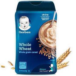 Gerber 嘉宝 纯小麦米粉辅食 二段  227g *6件