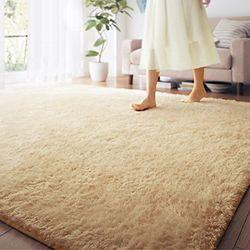 FOOJO 富居 丝绒地毯 浅米色 140*200cm