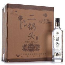 牛栏山 二锅头 特制10年 (52° 、700ml)6瓶 *2件
