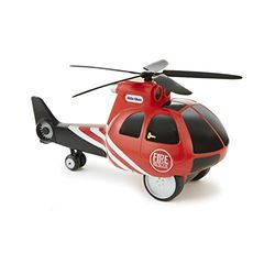 Little Tikes 小泰克 触动直升机玩具车