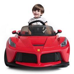 RASTAR 星辉 法拉利 82700 可开门儿童电动车 双驱动 82700红色