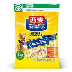 SEAMILD 西麦 即食纯燕麦片 175g