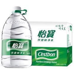 C\'estbon 怡宝 纯净水 4.5L*4 整箱