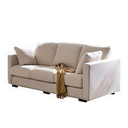美天乐 布艺沙发 小三人位  2.1米款