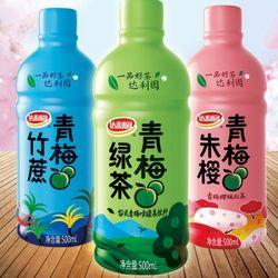 达利园 青梅竹蔗/青梅红茶/台式青梅  500ml*15瓶