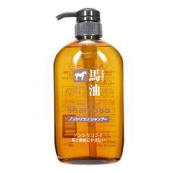 KUMANOYUSHI 熊野油脂 无硅油马油洗发水 600ml *4件