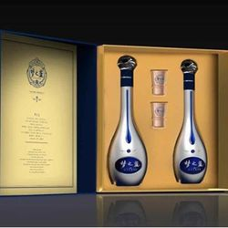洋河 蓝色经典 梦之蓝 M9 52度 500ml*2瓶 礼盒装