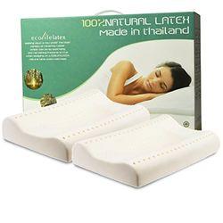 Ecolifelatex 伊可莱 PT3M+PT3S 平滑高款+平滑低款 乳胶枕