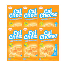 Calcheese 钙芝 奶酪味 高钙威化饼干 135g*6盒