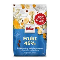 Finax 45%水果坚果麦片 650g *5件