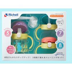 Richell 利其尔 TLI系列 成长型儿童水杯套装 200ml *3件