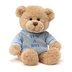 "GUND Baby 穿衣小熊"" It\'s A Boy""款 12英寸(30cm)"