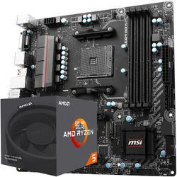 锐龙 AMD Ryzen 5 1600 处理器+B350M MORTAR主板 CPU主板套装