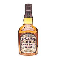 CHIVAS 芝华士 12年苏格兰威士忌 500ml+Bacrdti 百加得 白朗姆酒 750ml