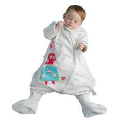 misslele 米乐鱼 婴儿双层分腿睡袋