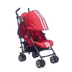 easywalker MINI Buggy婴儿轻便可躺可坐折叠时尚伞车宝马授权联名款 红色运动款