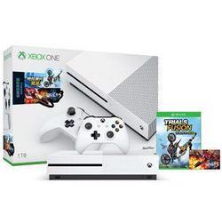 Microsoft 微软 Xbox One S 1TB家庭娱乐游戏机 雷电5限量版+《极限竞速 5》光盘版