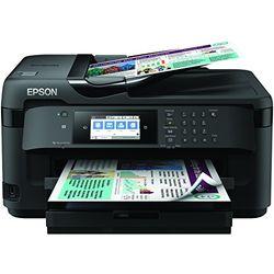EPSON 爱普生 WorkForce WF-7710 DWF A3+ 彩色喷墨打印机